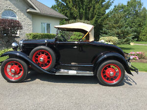 1930 Model A Ford Deluxe Roadster, Canadian