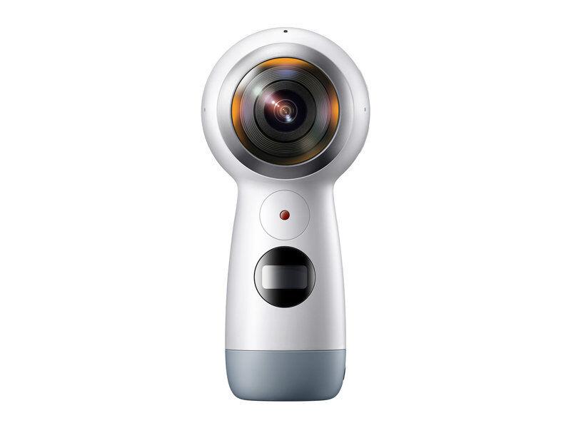 Samsung Gear 360 Real 360° 4K VR Action Camera 2017 Edition USA Version