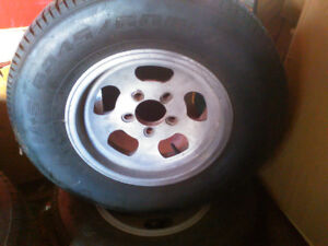 ET old school slotted rims and tires