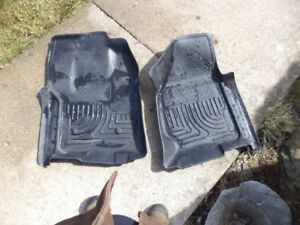 2012-16 ford f250-350 husky floor liners front mats new price
