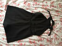 Miss guided Black playsuit size 10