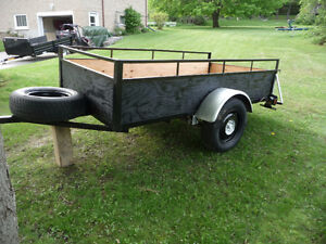Great condition Utility trailer  45 inch wide  X 8 ft 1 in long