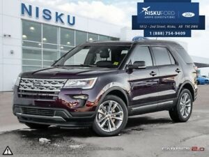 2018 Ford Explorer XLT 4WD  - Sunroof - Leather Seats