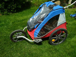 Chariot Cabriolet Double jogging stroller