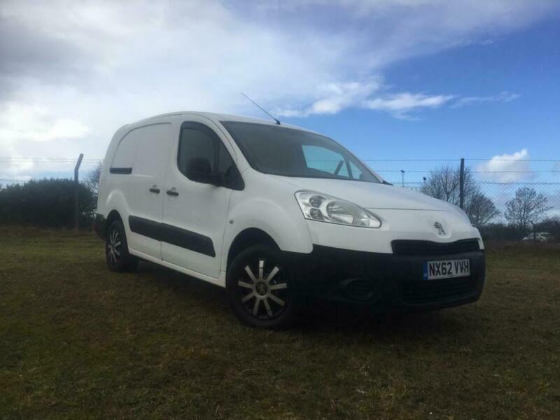 718d8e582b 2012 Peugeot Partner Hdi Crc Crew Van Twin SLD NO VAT 1.6