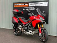 DUCATI MULTISTRADA 1200 S ADVENTURE TOURING COMMUTING MOTORCYCLE
