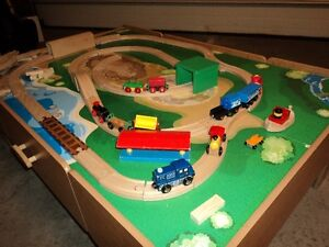 Thomas Train Table includes tracks and Trains