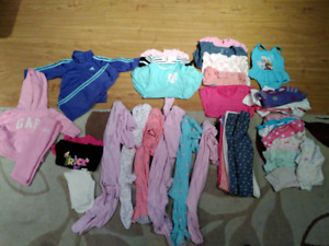 12m baby girls clothing - very cheap alot of clothes