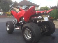 Cpi xs250 road legal/registered quad bike
