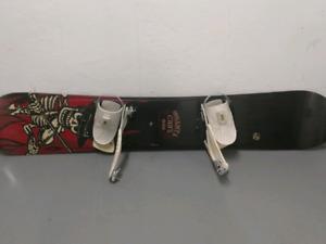 Santa Cruz W168 Snowboard w/ SIMS bindings