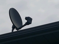 reparation satellite bell et shaw direct antenne .coupole