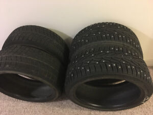 225/40r18 Winter tires (used for Lexus IS350) $300 OBO
