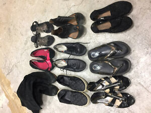 $5 ANY PAIR - shoes boots runners sandals - 13 PAIRS