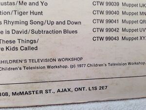 Sesame Street let your feelings grow lp record Gatineau Ottawa / Gatineau Area image 5