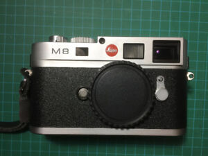 Leica m8 silver mint condition