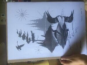 Norman Knott prints