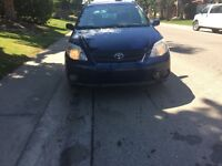 2007 TOYOTA MATRIX /XR ------low km ----low price ---good condit