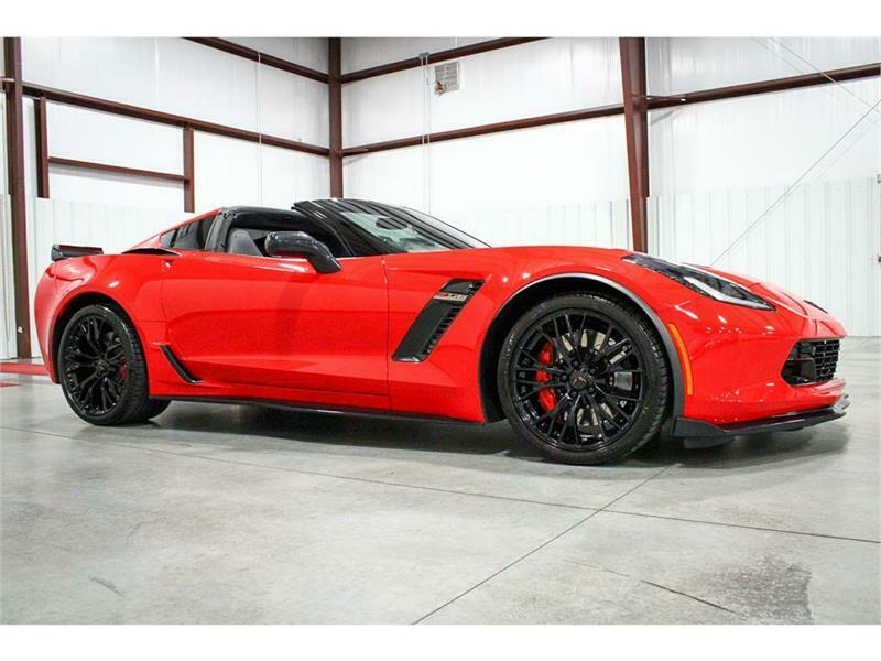 2016 Red Chevrolet Corvette Z06 3LZ   C7 Corvette Photo 7