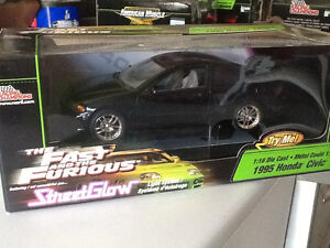 Fast and Furious streetglow honda civic diecast