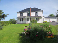 BEAUTIFUL RIVERVIEW FARMHOUSE - LAND RENTAL INCOME
