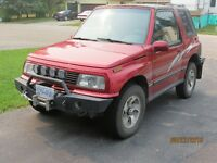 1992 Geo Tracker Coupe (2 door)
