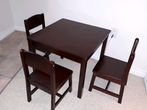 Kidcraft Table and Chair set