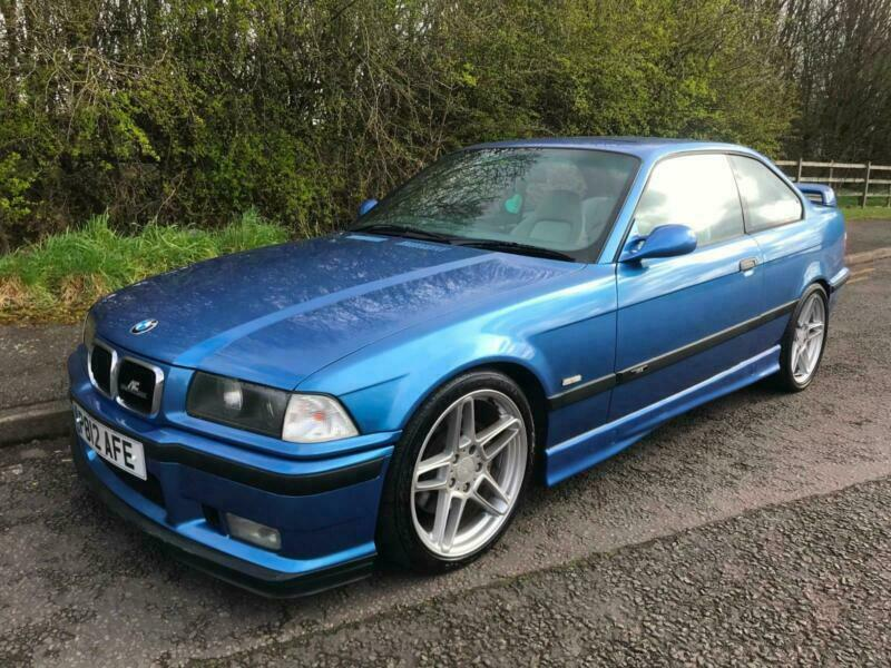 1996 P BMW M3 E36 EVOLUTION COUPE - 6 SPEED - ESTORIL BLUE ...