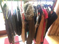 Huge collect of size 6 and 8 clothes to sell separate on in bundle starting at 50p an item