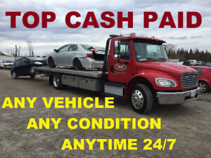 Top $$$ Paid For Scrap Vehicles - We Work Late!