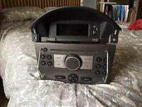 Vauxhall cd radio and display