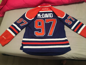 Authentic Connor McDavid jersey