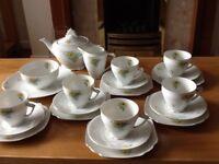 Vintage Czechoslovakian Tea Set Circa 1940