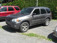 2005 Mazda Tribute lx VUS(reparation a faire)