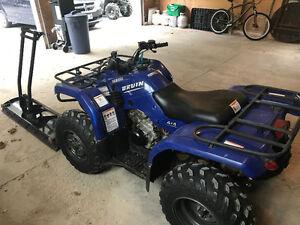Yamaha 350 bruin 4x4