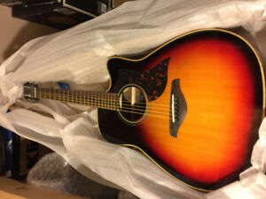Yamaha A1R VS Acoustic Electric Guitar - Vintage Sunburst