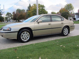 2005 Chevrolet Impala , Low Km's , cert and e-tested