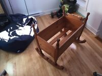 Berceau antique/Antic Crib