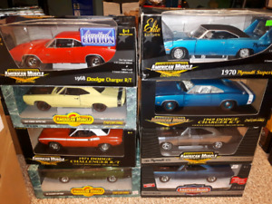 American Muscle 1:18 diecast Mopars Dodge Plymouth