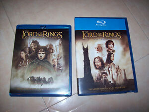 Lord of the Rings Blu Ray Movies