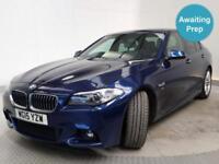 2015 BMW 5 SERIES 525d M Sport 4dr Step Auto