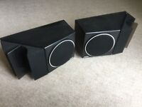 £60 HOME CINEMA OR STEREO HIFI BOSE SPEAKERS BOOKSHELF OR WALL MOUNT TOP QUALITY MADE IN USA