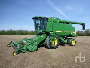 UNRESERVED AUCTION - USED COMBINES & TRACTORS - ABBEY, SK