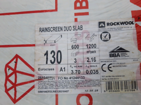 A1 non combustible rockwool insulation