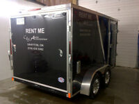 RENT ME 7x12 Enclosed Trailer $65/DAY