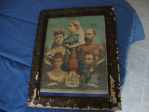 English Royal Family Lithograph