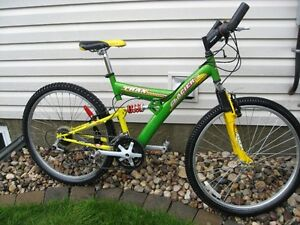Glacier Trax 21 speed dual suspension mountain bike