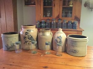 Wanted: Paying $ Cash $ for Canadian Stoneware Crocks/Jugs