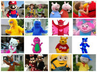 KIDS  PARTY CHARACTERS AND INTERACTIVE BUBBLE SHOWS