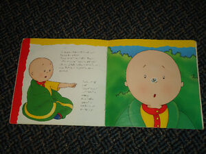 Caillou Goes Camping by Roger Harvey Paperback Kingston Kingston Area image 4