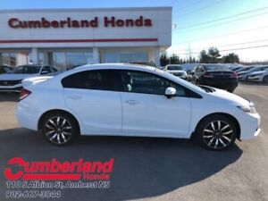 2014 Honda Civic Sedan Touring  - Navigation -  Sunroof